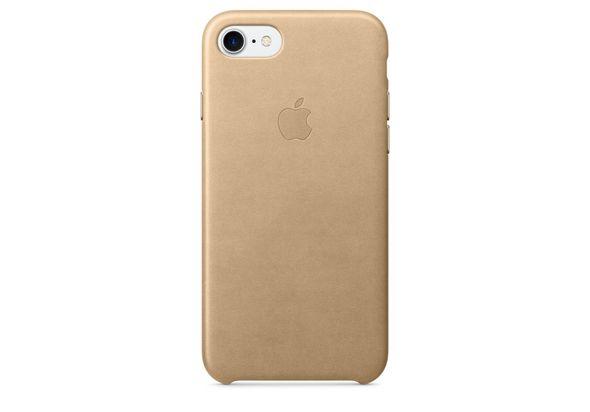 Apple iPhone 7 Leather Case, Tan