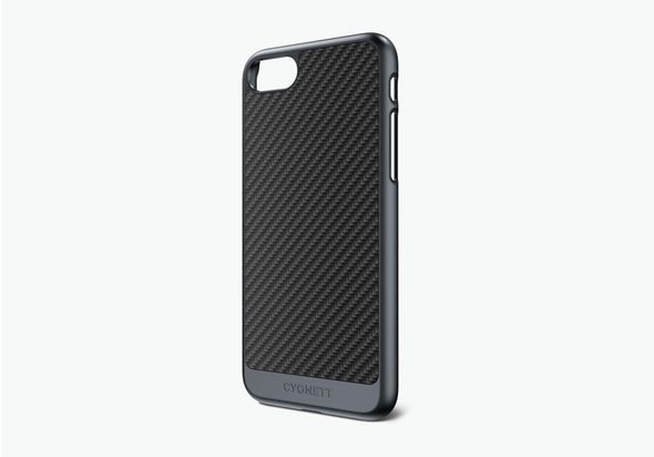 Cygnett UrbanShield Case for iPhone 7 Carbon Fibre, Gunmetal