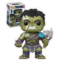 Funko POP! Bobble: Marvel: Thor Ragnarok: Gladiator Hulk w/out Helmet (Exc)