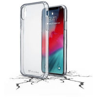Cellularline Clear Duo Case for iPhone XR, Transparent