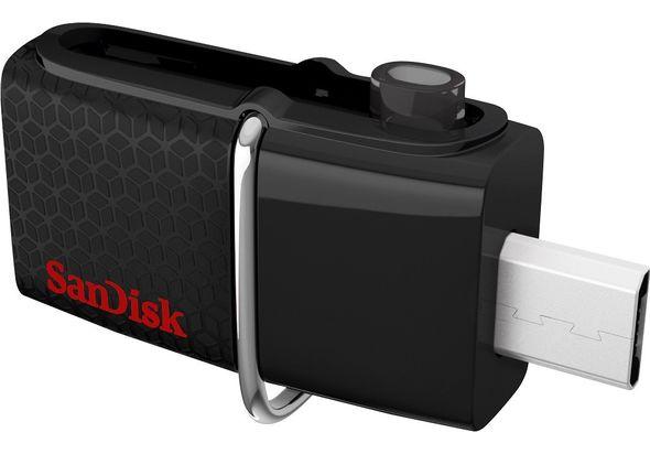 SanDisk Ultra Dual 128GB Micro USB/USB 3.0 Type A Flash Drive