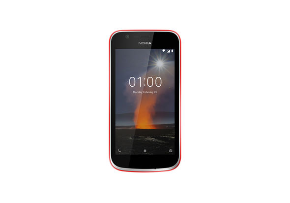Nokia 1 Smartphone LTE, Warm Red