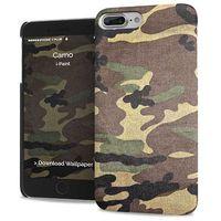 iPaint Camo Case design polycarbonate case for the iPhone 7 Plus