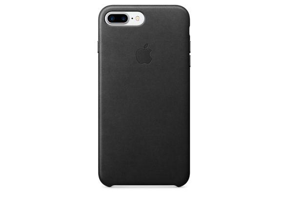 Apple iPhone 7 Plus Leather Case, Black