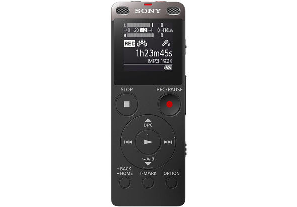 Sony ICDUX560F Digital Voice Recorder with Built-in USB, Black