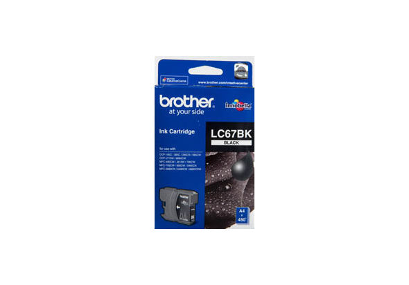Brother LC67BK Ink cartridge black
