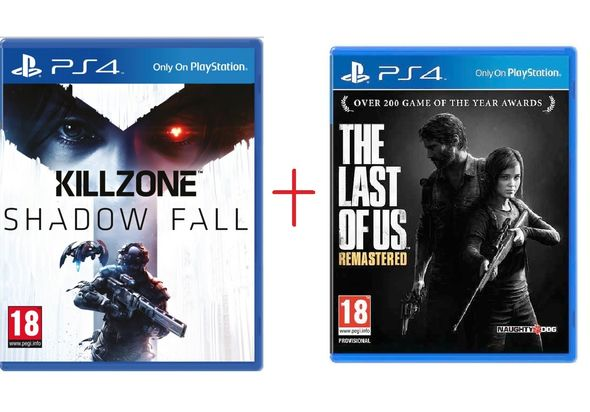 PS4 Last of Us+ KillZone Gaming Bundle