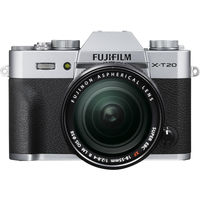 Fujifilm X-T20 Mirrorless Digital Camera with 18-55mm Lens,  Silver
