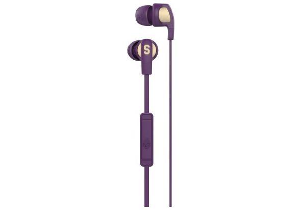 Skullcandy Smokin Buds 2 Famed Purple In the Ear Headset