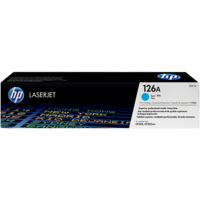 HP 126A Cyan Original LaserJet Toner Cartridge