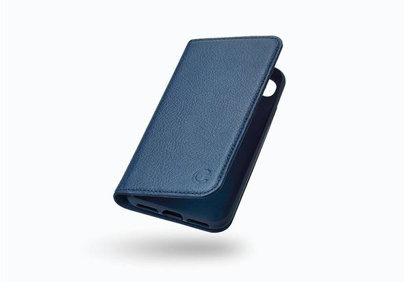 Cygnett CitiWallet iPhone 8 Leather Wallet Case, Navy