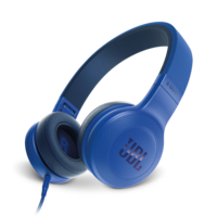 JBL E35 On-ear Headphones, Blue