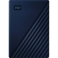 WD 4TB My Passport for Mac USB 3.0 External Hard Drive, Midnight Blue