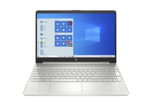 HP 15S-EQ0001NE R3 4GB, 256GB 15  Laptop, Silver