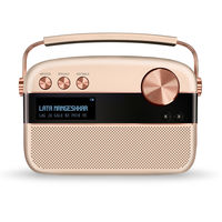 Saregama Carvaan Hindi Digital Audio Player with Harman Kardon Sound, Rose Gold