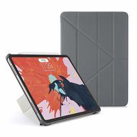 Pipetto Ultra Slim Origami Smart Case for iPad Pro 11 (2018),  Grey