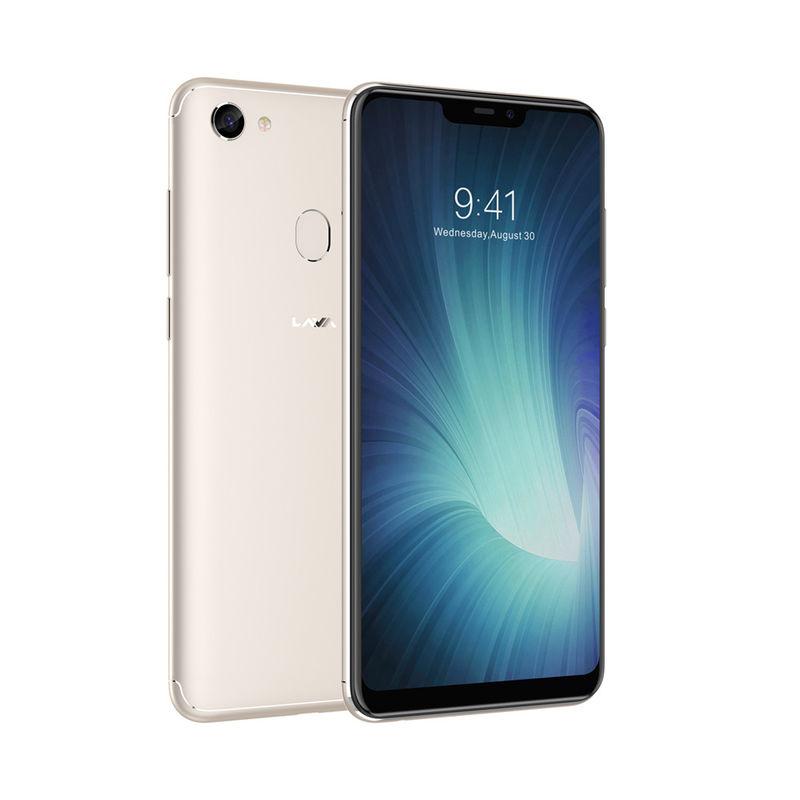 Lava R3 Note Smartphone, Gold