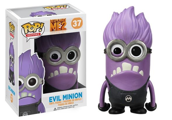 Funko POP Movies Despicable Me Purple Minion