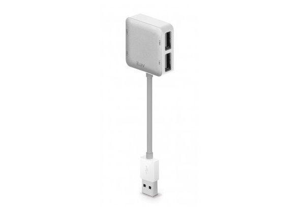 iLuv 4-Port USB Hub