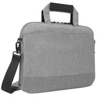 "Targus CityLite 14"" Laptop Case Shoulder Bag, Grey"