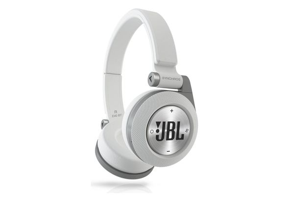 JBL Synchros E40BT On-ear, Bluetooth headphones, White