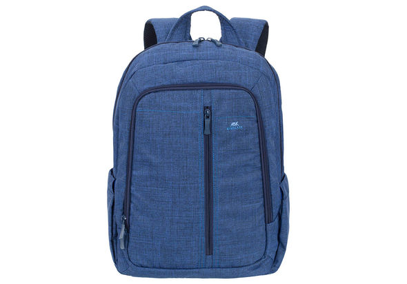 Riva Case 7560 Laptop Canvas Backpack 15.6  , Blue