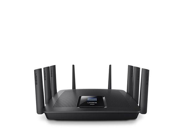 Linksys EA9500 Max-Stream AC5400 MU-MIMO Gigabit Router.