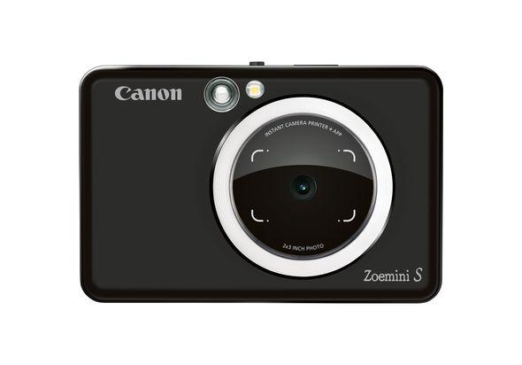 Canon Zoemini S Instant Camera Printer,  Matt Black
