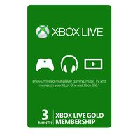3-Month Xbox Live Gold Membership