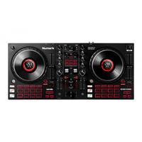 Numark MixTrack Platinum FX 4-Deck Advanced DJ Controller with Jog Wheel Displays and Effects Paddles