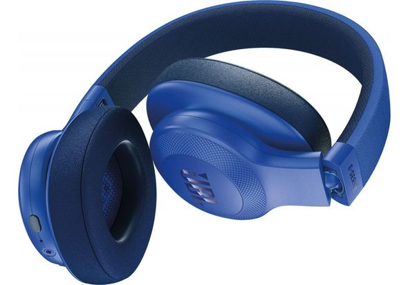 JBL E55BT Wireless over-ear headphones, Blue