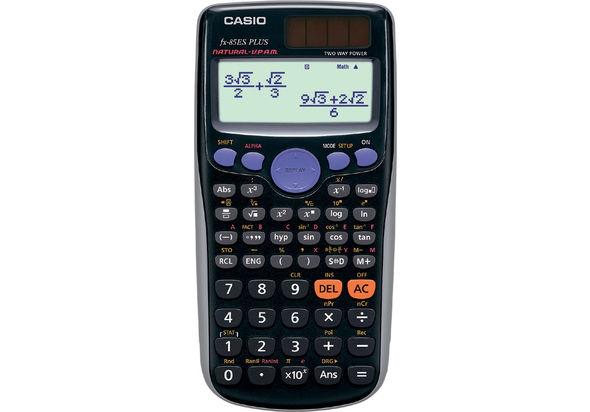 Casio FX-85ESPLUS-R Natural Textbook Display Calculator