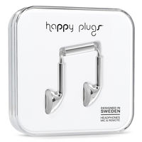 Happy Plugs Earbud, Silver