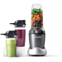 NutriBullet Prime 8-Piece High-Speed Blender/Mixer System 1000 Watts, Dark Grey
