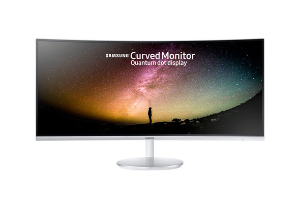 Samsung 34  Full HD Curved Monitor with Quantum Dot Technology