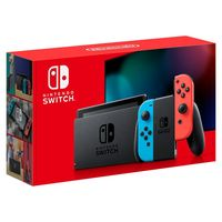 Nintendo Switch Neon Red & Blue With Extended Battery