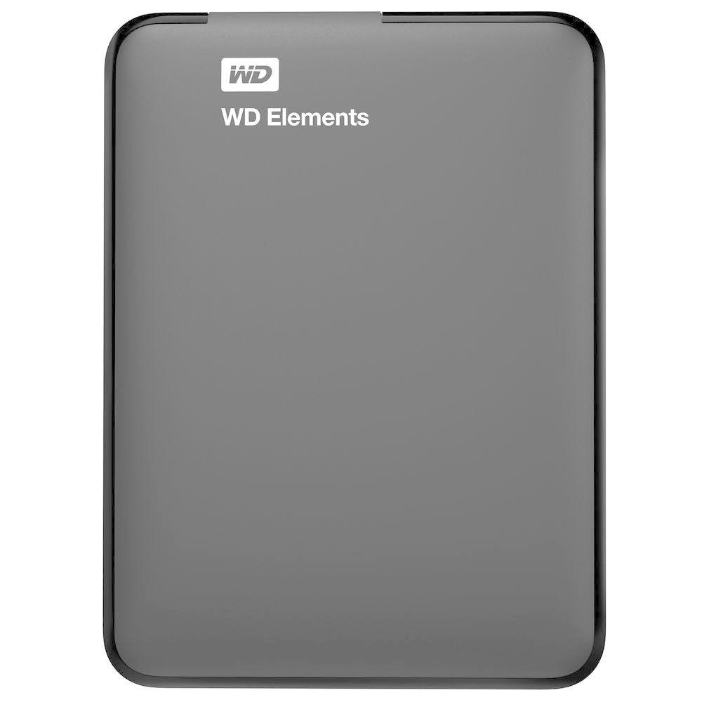سعة 1 تيرا بايت WD , Elements Portable USB 3.0 محرك أقراص صلب خارجي