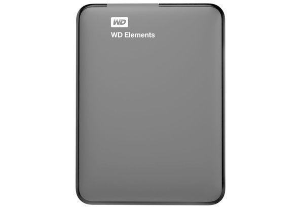 WD 1TB Elements USB 3.0 External Hard Drive, Hard Disk & Memory Cards