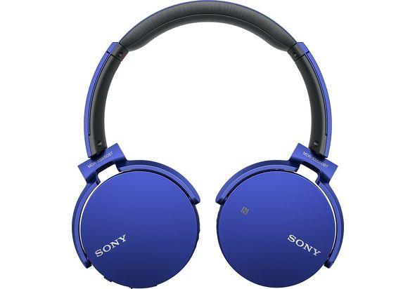 Sony XB650BT Extra Bass Bluetooth Headphones, Blue