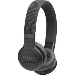 JBL Live 400BT Wireless Over Ear Headphones,  Black