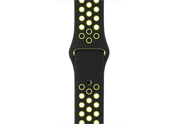 Apple 38mm Black/Volt Nike Sport Band