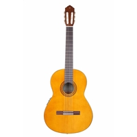 Yamaha CX40 Full Size Electro Nylon String Classical Guitar, Natural