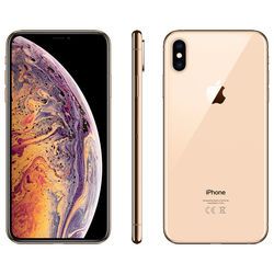 Apple iPhone XS Max Smartphone LTE with FaceTime,  Gold, 256 GB