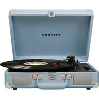 Crosley CR8005D-TN4 Cruiser Deluxe Turntable with Speaker, Tourmaline - CH