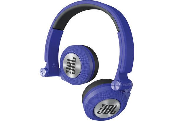 JBL Synchros E30 On-Ear Headphones, Blue
