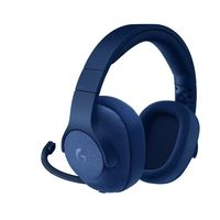 Logitech G433 7.1 Surround Sound Gaming Headset, Blue