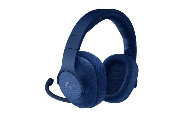 Logitech G433 7.1 Surround Sound Gaming Headset, Blue