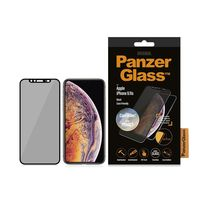 PanzerGlass Apple iPhone X/XS, Black Case Friendly, CamSlider & Dual Privacy