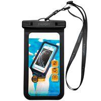 Spigen Velo A600 Universal Waterproof Phone Case, Black