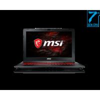 MSI i7 7700HQ 16GB, 256GB+ 1T, GTX1050Ti 4GB Graphic Gaming Laptop